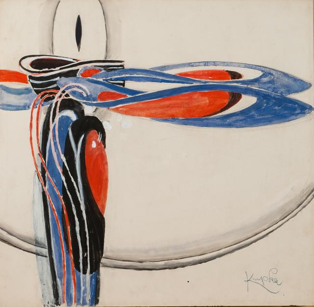 , 'Disques et arabesques,' 1922-1925, Galerie Zlotowski