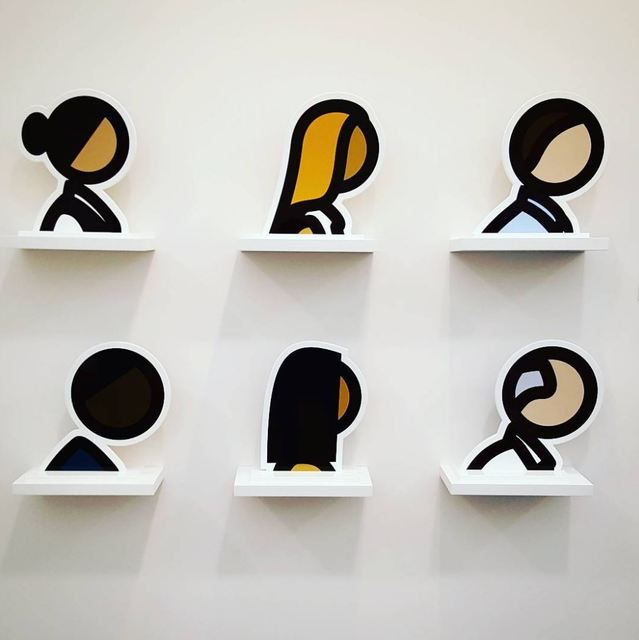 , 'Heads,' 2017, Aurifer AG