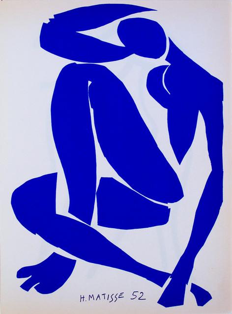, 'Femme bleue assis 4,' 1952, De Re Gallery
