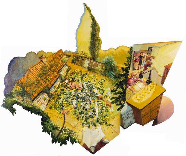 , 'GREEN PARK I: THE 57TH WEDDING ANNIVERSARY,' 2018, Chris Beetles Gallery