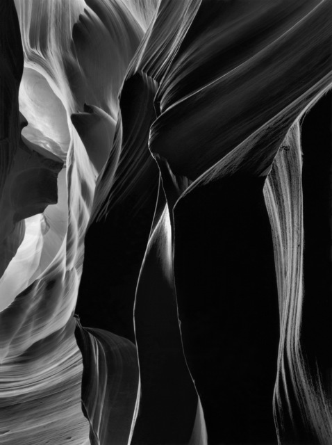 , 'The Slit, Antelope Canyon,' 1980, Photography West Gallery