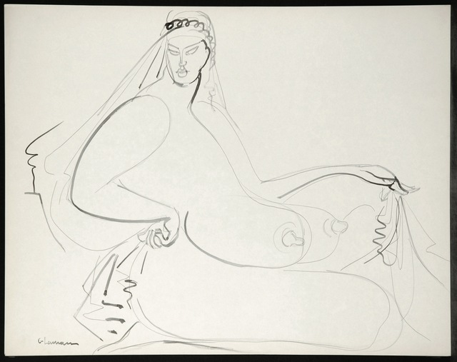 , 'Seated Nude,' ca. 1932, New York Studio School
