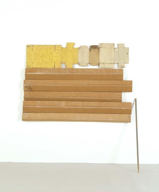 Robert Rauschenberg, 'Canary Stick (Cardboard)', 1971, Robert Rauschenberg Foundation