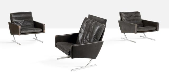 Preben Fabricius, 'Pair of lounge chairs', circa 1970, Aguttes