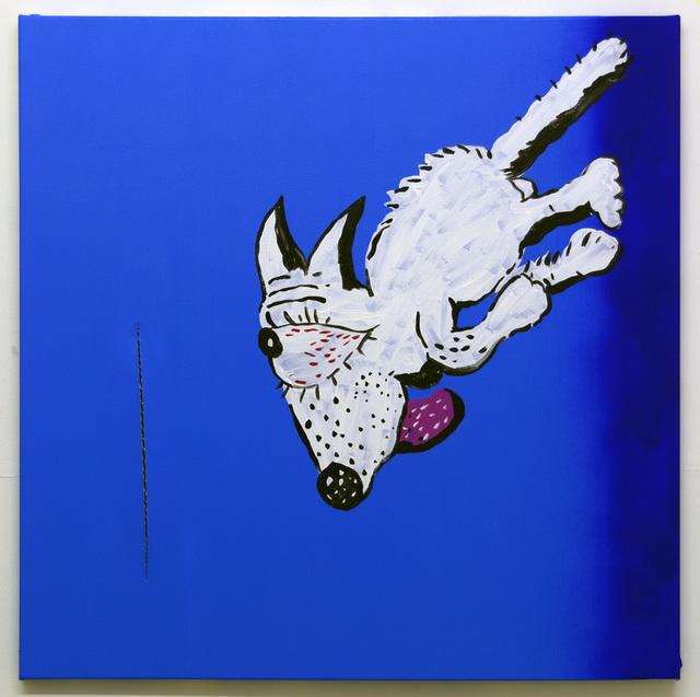Michael Pybus, 'Blue Dog With Slit', 2017, Tatjana Pieters