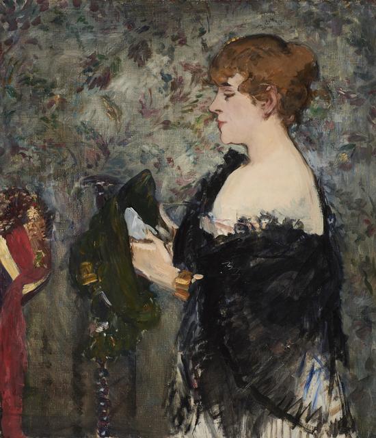 Édouard Manet, 'At the Milliner's (La Modiste)', 1881, Legion of Honor