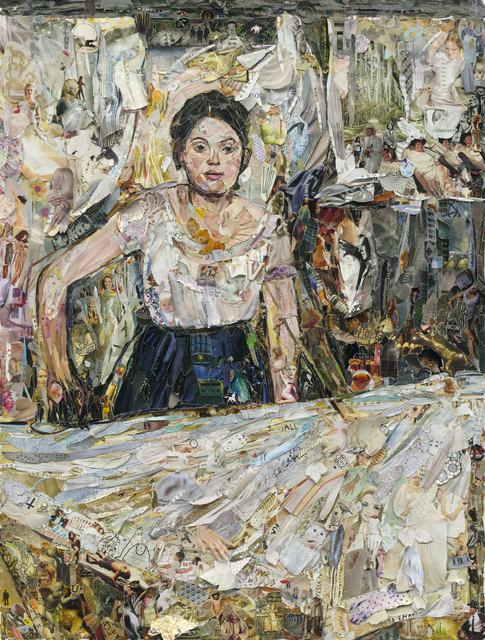, 'Woman Ironing, after Degas,' 2013, galerie nichido / nca | nichido contemporary art