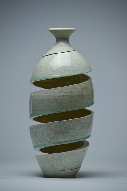 , 'Spatial Spiral: Celadon Crackle ,' 2017, Lyons Wier Gallery