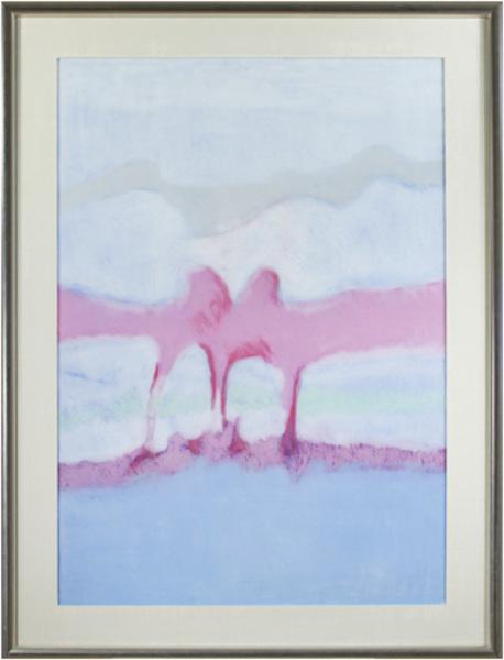, 'Landscape Blue, Violet, White,' 2009, David Barnett Gallery