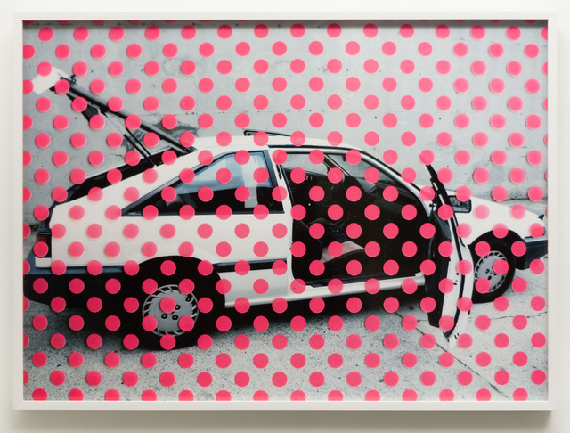 , 'Untitled (Pink dots on car),' 2019, Charlie James Gallery