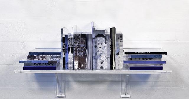 Pancho Luna, 'Fourth Dimension', 2021, Sculpture, Mixed-Media Sculpture, Timothy Yarger Fine Art