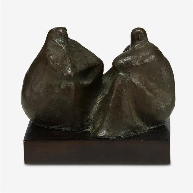 , 'Dos Mujeres Sentadas,' 1961, Stern Fine Art