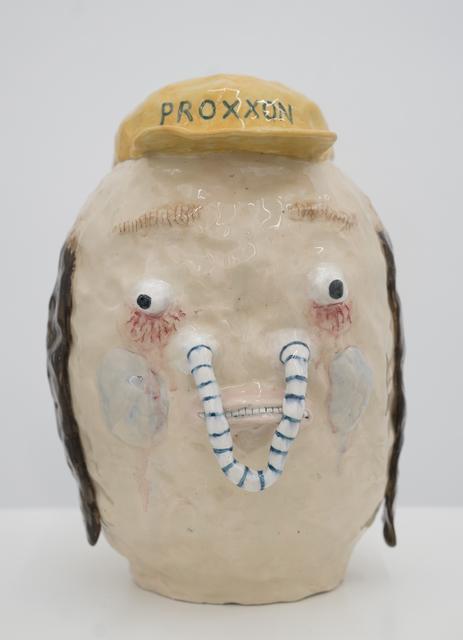 , 'Striped Pendent Nose,' 2017, Ruttkowski;68