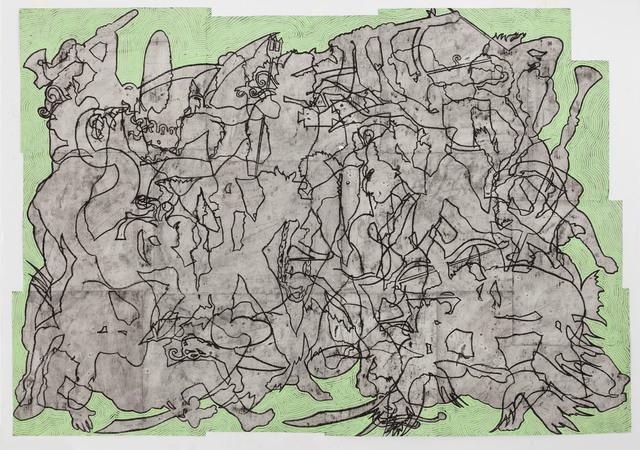 , 'Hic Sunt Dracones,' 2015, McClain Gallery