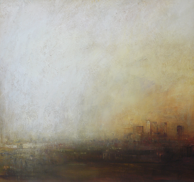 Benjamin Warner, 'Greenwich, Towards Canary Wharf', 2017, Tanya Baxter Contemporary