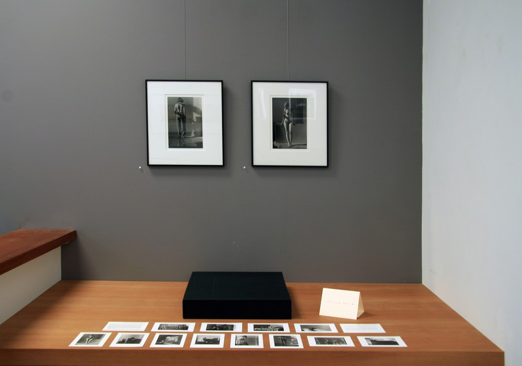 """Two of Marsha Burn's silver gelatin prints from the """"Dreamers"""" series created between 1978 -1980. The series includes twelve photographs."""