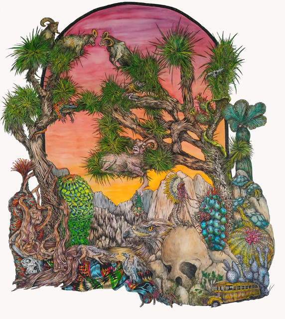 , 'Joshua Tree,' 2016, Galerie Hervé Lancelin