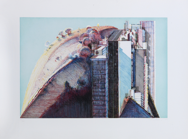 , 'Country City,' 1988, Sims Reed Gallery