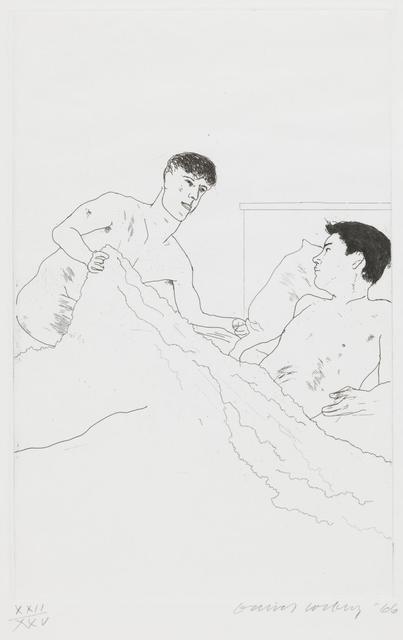 David Hockney, 'According to Pescriptions of Ancient Magicians, 5', 1966, Galerie Maximillian