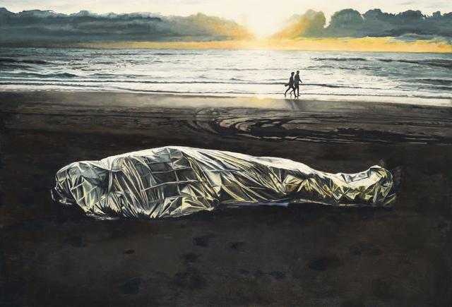, 'Mediterranean blanket I ,' 2016, (RE)D.