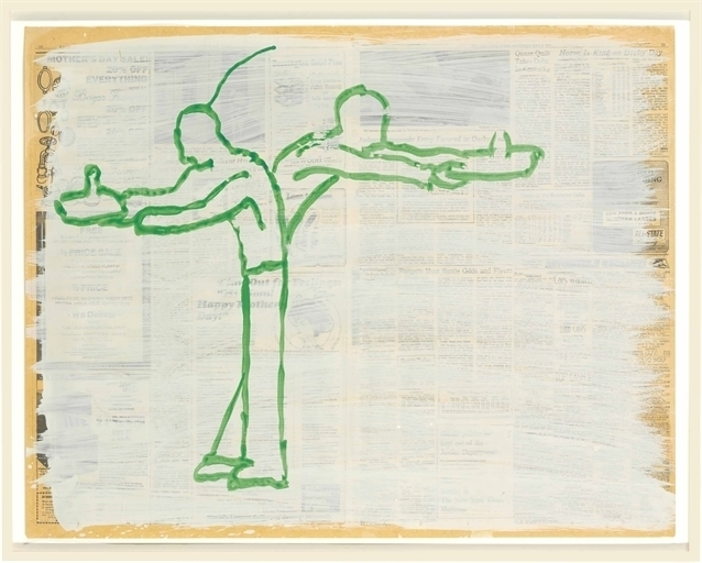 Paul Thek, 'Untitled (Two Figures)', Christie's