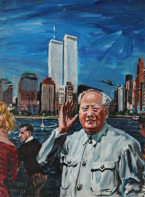 , '毛主席在曼哈顿 Mao in Manhattan,' 1993, Shanghai Gallery of Art