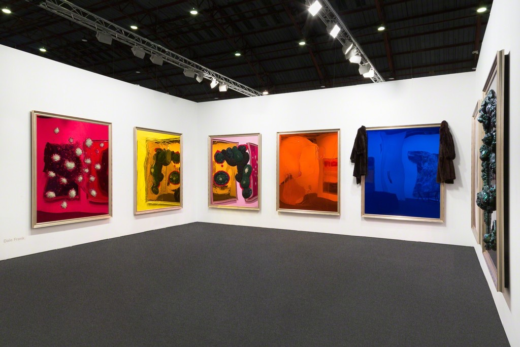 Dale Frank, Neon Parc Booth B6, Art Los Angeles Contemporary 2016, Installation View