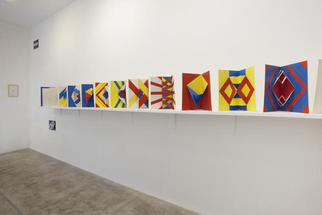 , 'Julio Plaza Objetos,' 1968-1969, Galeria Marilia Razuk