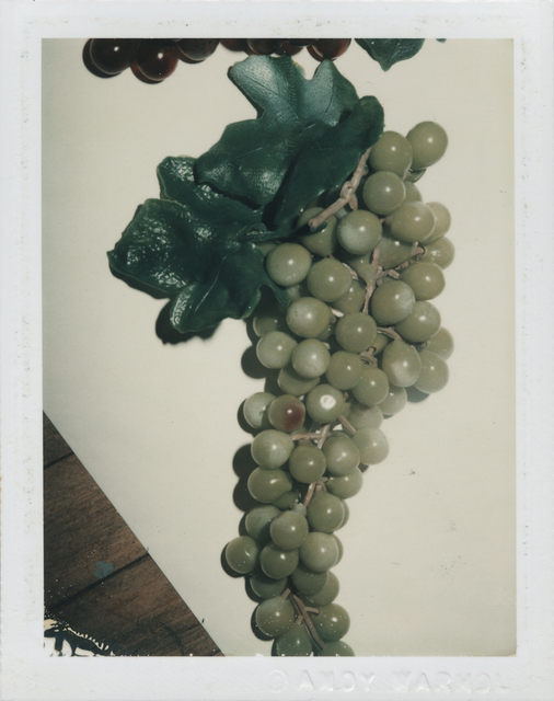 Andy Warhol, 'Grapes', 1981, Photography, Unique polaroid print, Christie's Warhol Sale