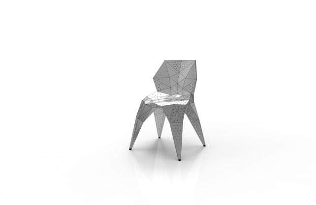 , 'MC007-D-Matt (Endless Form Chair Series),' 2018, Gallery ALL