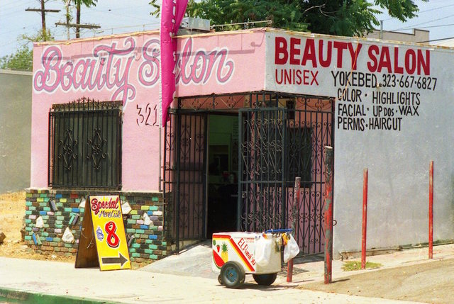 ", '""Little Eastside"" Beauty Salon,' 2014, Galerie Bene Taschen"