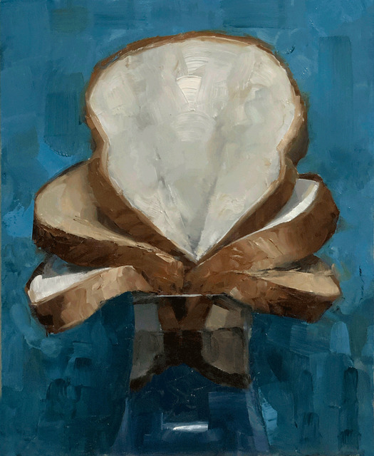 Tom Giesler, 'Floral 35: wheat and white', 2020, Painting, Oil on panel, McVarish Gallery