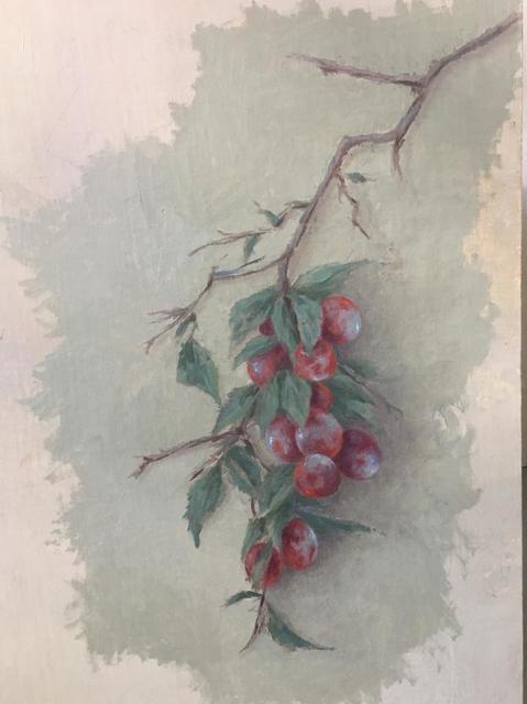 MARTA GÓMEZ DE LA SERNA, 'Plum Branch', 2019, Galería Marita Segovia
