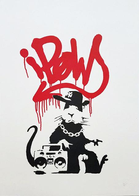 Banksy, 'Gangsta Rat', 2004, Gormleys Fine Art