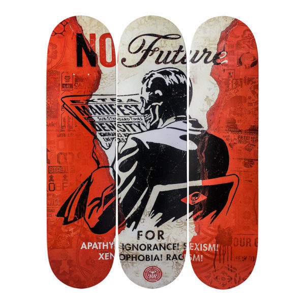 Shepard Fairey, 'No Future', 2017, Connecting Myanmar