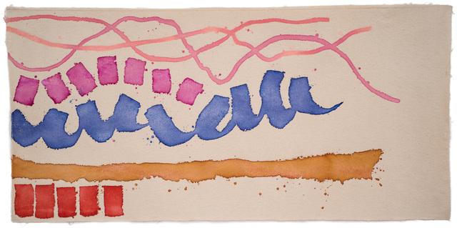 Giorgio Griffa, 'Movimento rosa', 2008, Painting, Acrylic on cotton, ABC-ARTE