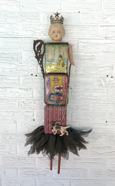 Bill Finks, 'Wall Totem ', 2010, Sculpture, Found Objects, Miller Gallery Charleston