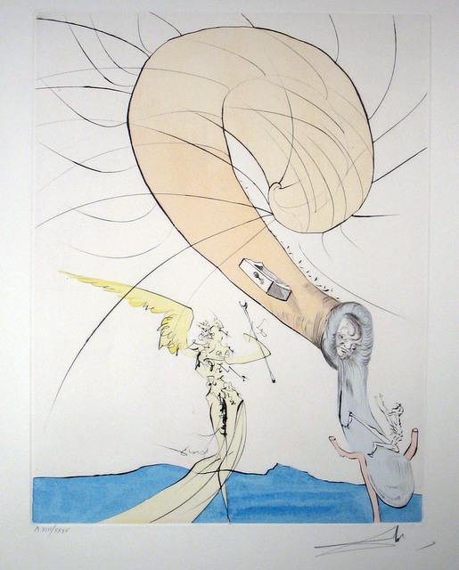 Salvador Dalí, 'Freud with Snail-head', 1974, DTR Modern Galleries