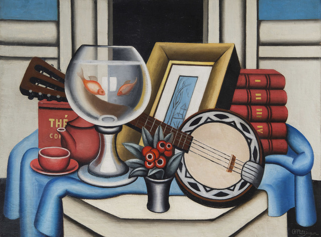 , 'Le bocal aux poissons rouges,' 1926, BAILLY GALLERY