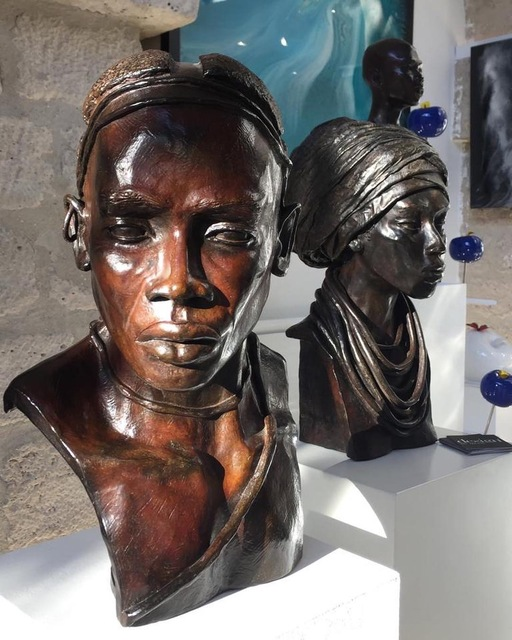 Brijite Bey, 'Homme 1 Nuba de Kau', 2012, Design by Jaler