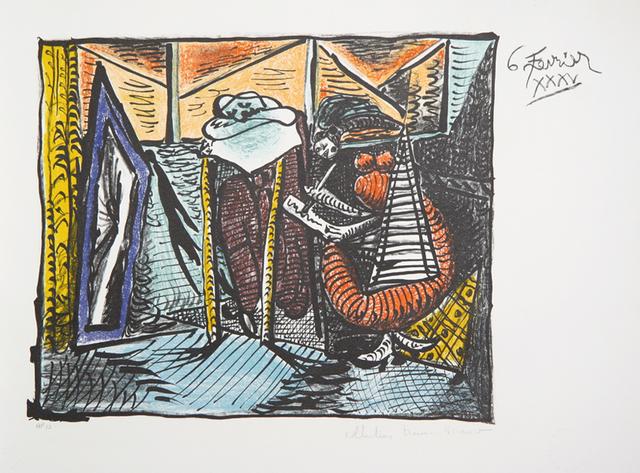 Pablo Picasso, 'Femme Dessinant, Femme Assoupie, 1935', 1979-1982, RoGallery