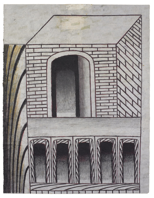 , 'Untitled (Brick Structure with Arches),' ca. 1960, Ricco/Maresca Gallery