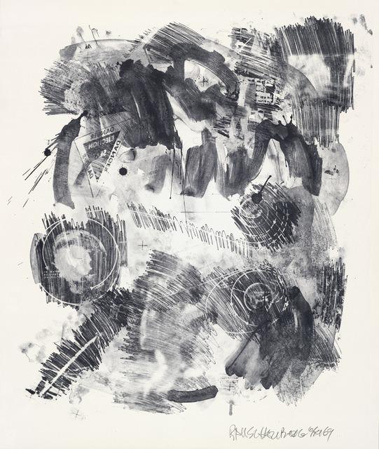 Robert Rauschenberg, 'Loop (Stoned Moon),' 1969, San Francisco Museum of Modern Art (SFMOMA)