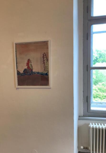 Hubert Schmalix, 'Untitled', 2016, Drawing, Collage or other Work on Paper, Gouache, Galerie Schloss Parz Kunstzentrum OG