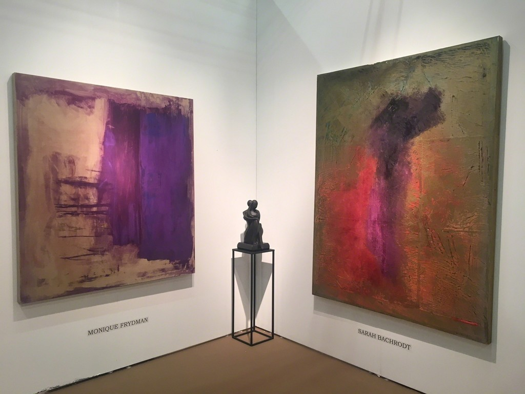 BOCCARA ART at Art New York 2018 - Monique Frydman, Sarah Bachrodt and Shray