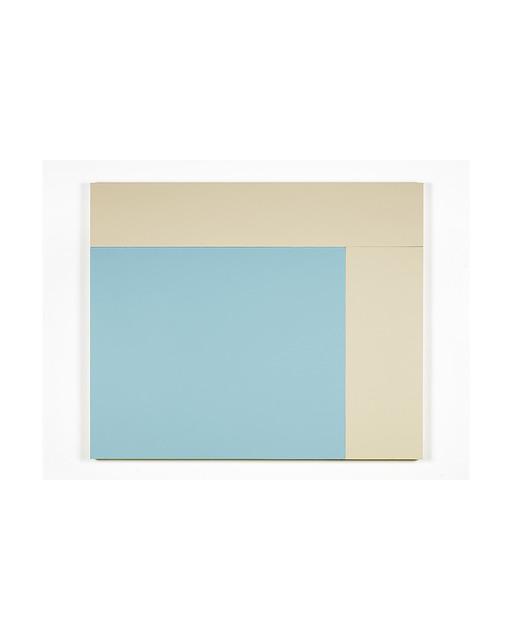 , 'K1 (Oyster, Oyster, Bluet),' 2013, Bortolami