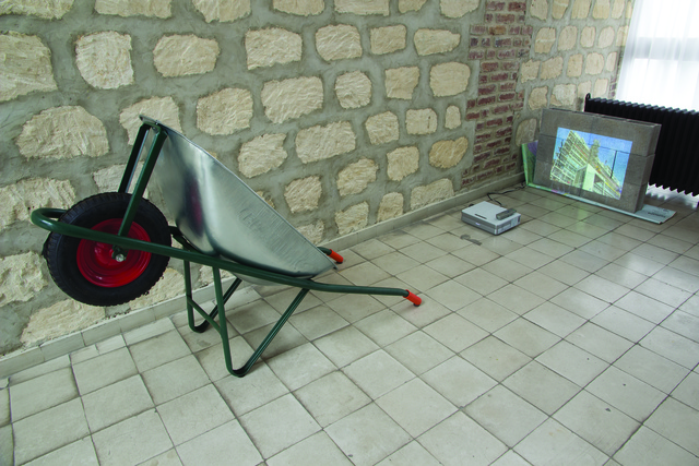 , 'My house is à Le Curbosier (Citè de Refuge),' 2015, Ex elettrofonica