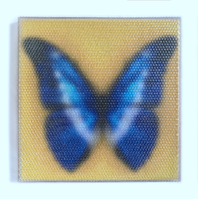, 'Forgotten - Blue Butterfly,' 2017, Red Gate Gallery