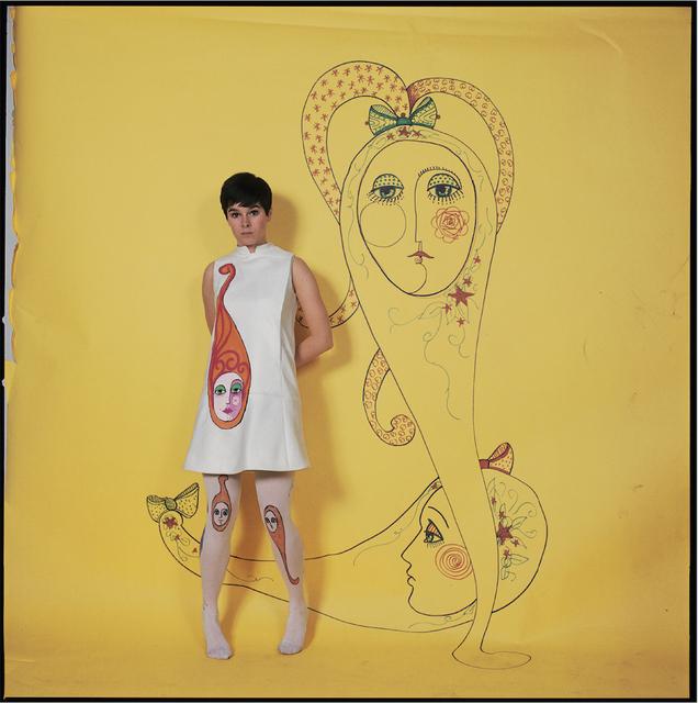 , 'Géraldine Chaplin, Ted Lapidus,' 1970, Galerie Dumonteil