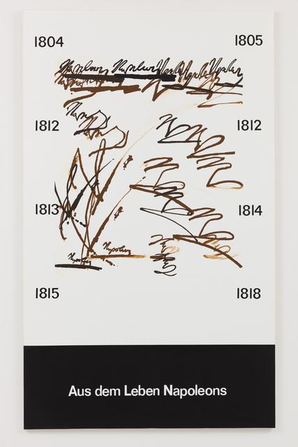 , '200 x 120 cm78 3/4 x 47 1/4 ins,' 1974, Vilma Gold